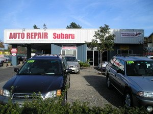 T.L. Tillett's Automotive Inc, subaru repair at Santa Rosa CA
